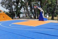 Het openlucht Hof van het Basketbal stock foto's