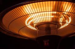 het openlucht verwarmen in restaurant terrrace royalty-vrije stock foto's