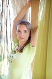 Het openluchtportret van de vrouw Royalty-vrije Stock Fotografie