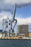 Het opheffende toestel van de container Royalty-vrije Stock Foto's