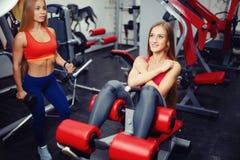 Het opleidende team van de conceptengroep voor gewichtsverlies stock afbeeldingen