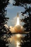 Het opstijgen van de ruimtependel Stock Foto's