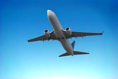 Het opstijgen van het vliegtuig Royalty-vrije Stock Fotografie