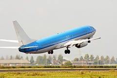 Het opstijgen van het vliegtuig Royalty-vrije Stock Foto