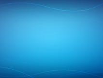 Het Optische Blauw van de vezel Stock Foto
