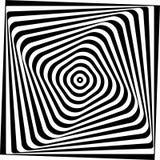 Het optische effect van Vasarelly. Stock Fotografie
