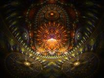 Het optische Huis van de Kunst van Buddah 01 royalty-vrije illustratie