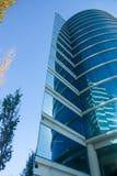 Het Oracle-Hoofdkwartier in Californische sequoiastad die wordt gevestigd Stock Fotografie