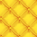 Het oranje Naadloze Patroon van de Leerstoffering Royalty-vrije Stock Foto