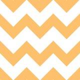 Het oranje Patroon van de Chevron van de Room Stock Afbeeldingen