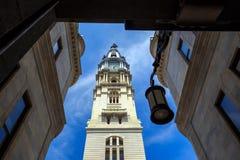 Het oriëntatiepunt historisch Stadhuis van Philadelphia royalty-vrije stock afbeeldingen
