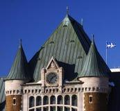 Het oriëntatiepunt van de Stad van Quebec royalty-vrije stock foto