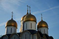 Het oriëntatiepunt van Moskou het Kremlin De Plaats van de Erfenis van de Wereld van Unesco royalty-vrije stock fotografie