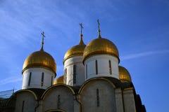 Het oriëntatiepunt van Moskou het Kremlin De Plaats van de Erfenis van de Wereld van Unesco royalty-vrije stock foto