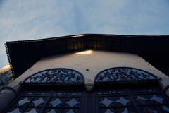 Het oriëntatiepunt van Moskou het Kremlin De Plaats van de Erfenis van de Wereld van Unesco royalty-vrije stock foto's