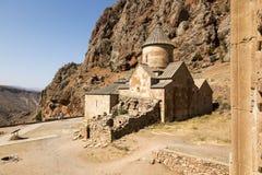 Het Oriëntatiepunt van het Noravankklooster in Syunik-provincie van Armenië Royalty-vrije Stock Foto's