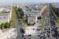 Het oriëntatiepunt van Parijs royalty-vrije stock foto's