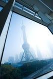 Het oriëntatiepunt van Shanghai Royalty-vrije Stock Foto