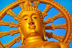 Het oriëntatiepunt van Thailand De Grote Tempel van Boedha Boeddhismegodsdienst Tou stock fotografie