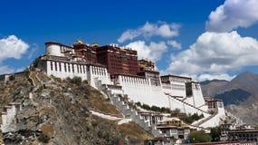 Het oriëntatiepunt van Tibet stock fotografie