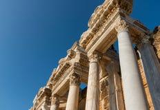 Het oriëntatiepunt van Turkije: oude stad Hierapolis royalty-vrije stock afbeelding