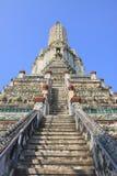 Het oriëntatiepunt van Wat aroon van Bangkok Thailand Stock Fotografie