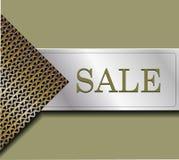 Het originele kenteken voor verkoop Stock Afbeelding
