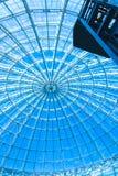 Het originele ontwerp van glas en metaal Royalty-vrije Stock Afbeelding