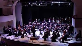 Het Orkest van de Dniprosymfonie stock videobeelden