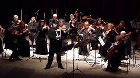 Het Orkest van de vier seizoenenkamer stock videobeelden