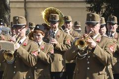 Het orkest van het leger Stock Afbeeldingen