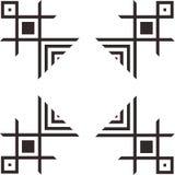 Het ornament van Amerikaanse Indiërs Royalty-vrije Stock Afbeeldingen