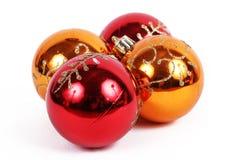 Het ornament van ballenkerstmis Stock Fotografie