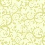 Het ornament van bloemen (behang) Royalty-vrije Stock Afbeeldingen