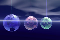 Het Ornament van de aarde Stock Fotografie