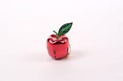 Het Ornament van de Boom van de Klok van de appel Stock Foto