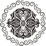 Het ornament van de cirkel royalty-vrije illustratie