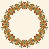 Het ornament van de cirkel, sier rond kant Royalty-vrije Stock Fotografie