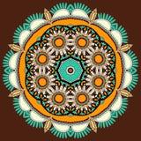 Het ornament van de cirkel, sier rond kant Royalty-vrije Stock Afbeelding