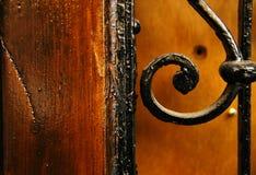 Het ornament van de deur Stock Afbeeldingen