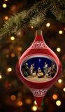 Het Ornament van de geboorte van Christus Royalty-vrije Stock Afbeelding