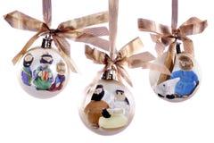 Het Ornament van de geboorte van Christus royalty-vrije stock foto's
