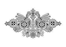 Het ornament van de gravure Royalty-vrije Stock Fotografie