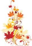 Het ornament van de herfst Stock Afbeeldingen