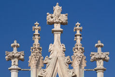 Het ornament van de Kathedraal van Duomo Royalty-vrije Stock Foto's
