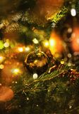 Het Ornament van de Kerstmisbal royalty-vrije stock foto