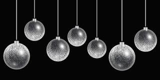 Het Ornament van de Kerstmisbal Stock Foto's