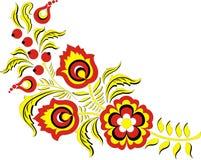 Het ornament van de kleur Stock Illustratie