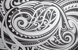Het ornament van de Maoristijl vector illustratie