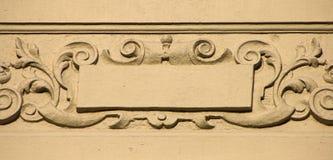 Het ornament van de muur Stock Foto